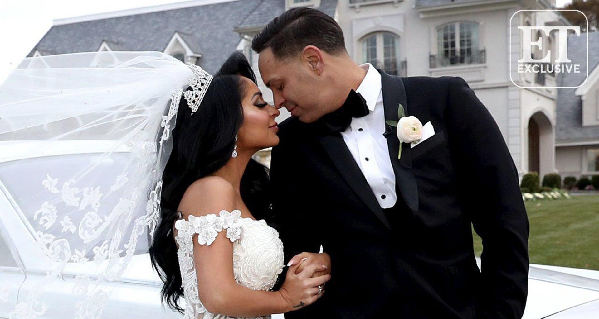 Angelina Pivarnick Gets Married: Yells At Jersey Shore Producers, Storms Out, And Is No Longer Talking To Female Castmates Who Were Booed At The Wedding