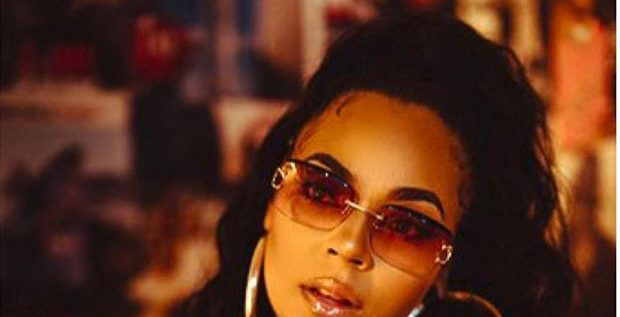 Ashanti Is Burning Up In New Video With Hot New Hairstyle And Tempting Red Outfit