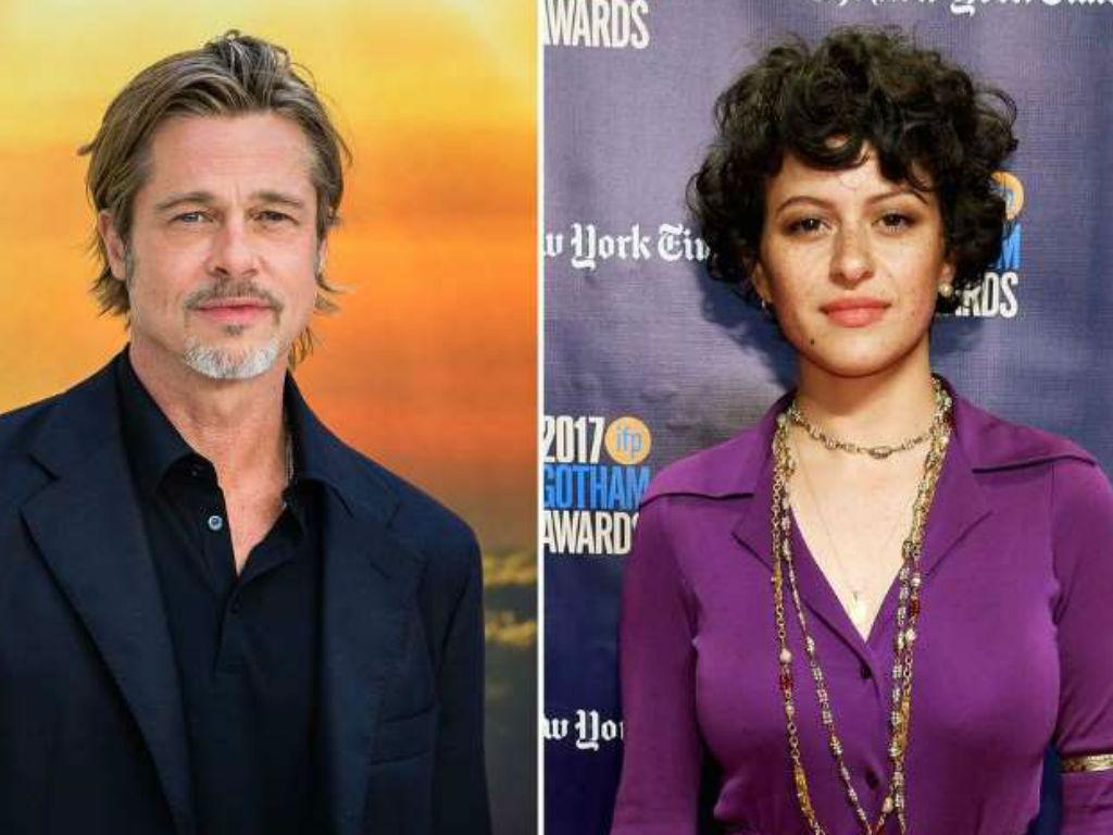 Brad Pitt Can't Shake Alia Shawkat Dating Rumors After They Were Spotted Together Again