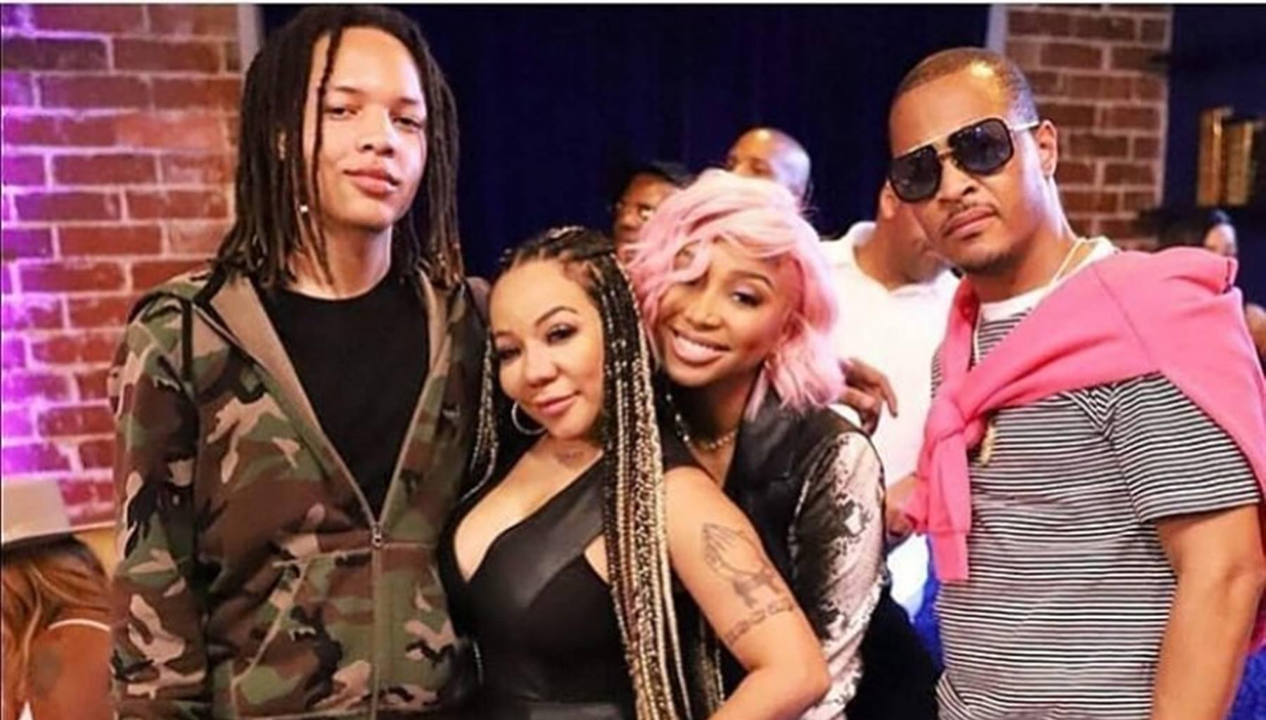 Tiny Harris And Zonnique Pullins Prepare For A Mother-Daughter Panel At Atlanta's Ultimate Women's Expo