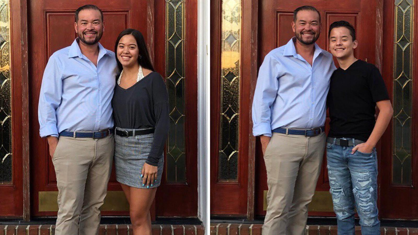 Jon Gosselin And Kids Collin And Hannah Fly To The Caribbean To Spend Thanksgiving There Amid His Drama With Kate!
