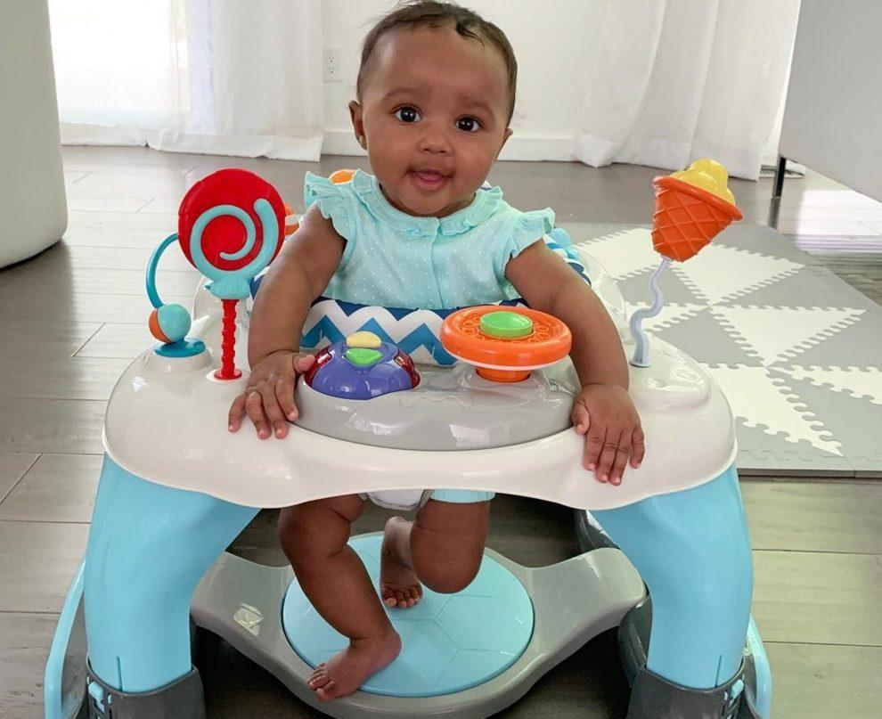 Kenya Moore's Baby Girl, Brooklyn Daly Is The Happiest Surrounded By 'Hello Kitty' Toys