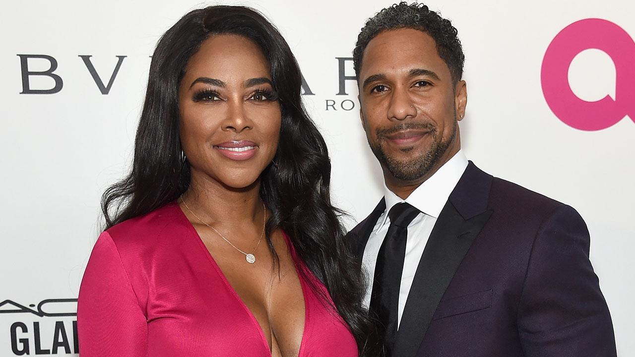 Kenya Moore And Marc Daly Reunite At Daughter Brooklyn's First Birthday Party - Check Out The Sweet FamilyPic!