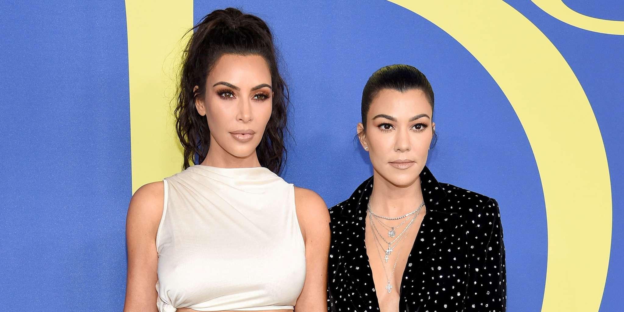 Kim Kardashian Allegedly 'Relieved' That Kourtney Kardashian Is Stepping Back From KUWK: 'She Was Over The Fighting And Kourtney's Attitude'