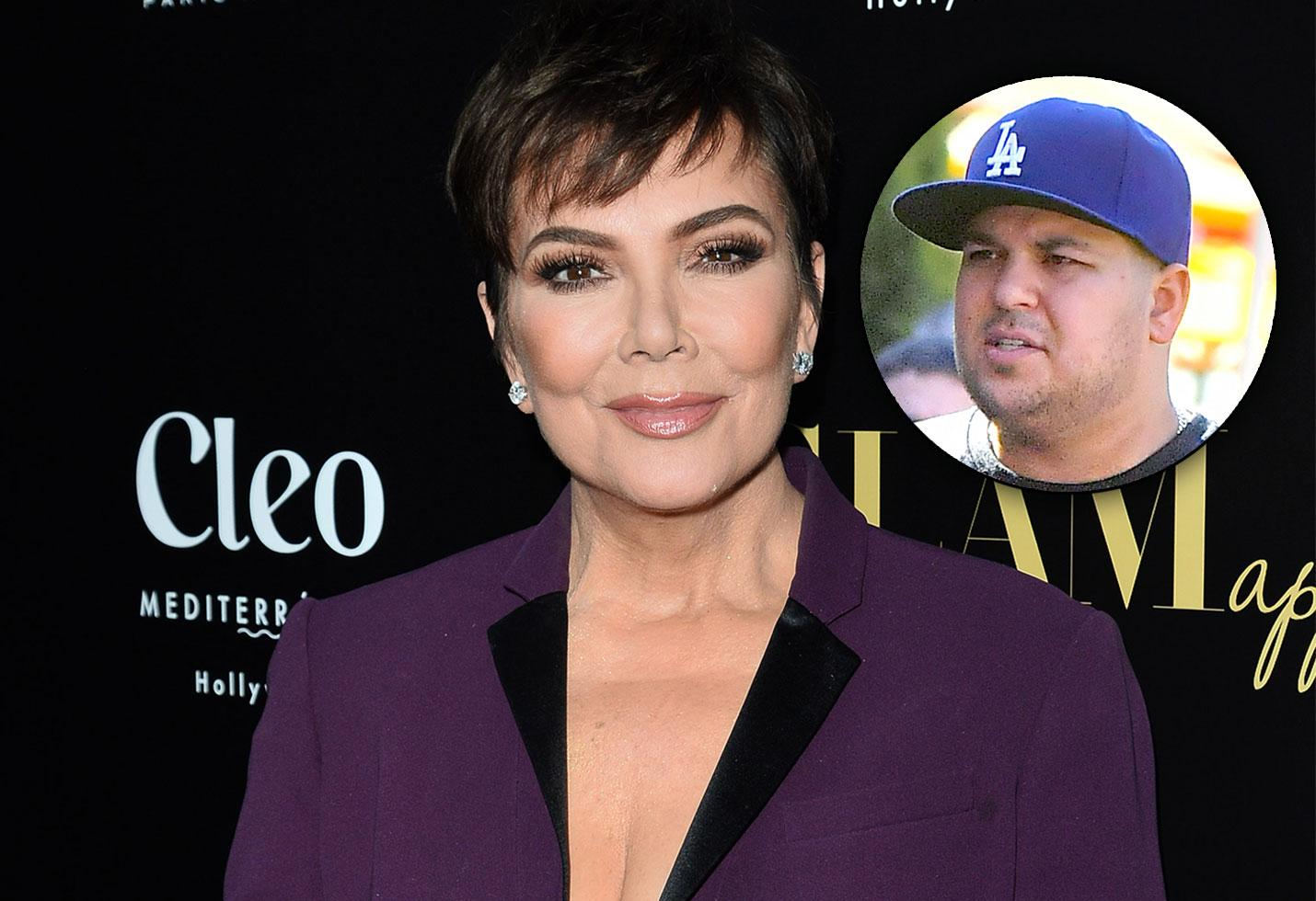 KUWK: Kris Jenner Hopes Son Rob Might Join The Rest Of The Family For This Year's Holiday Card Shoot After His Weightloss