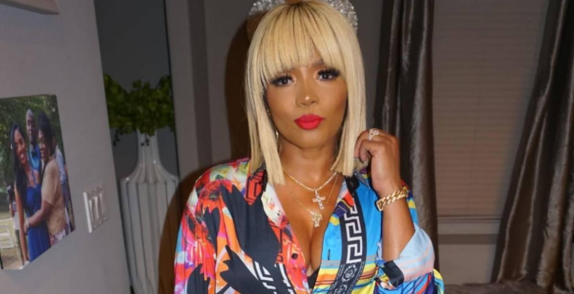 Rasheeda Frost Flaunts A New Blue Bob And Her Fans Are Here For Her New Hairdo