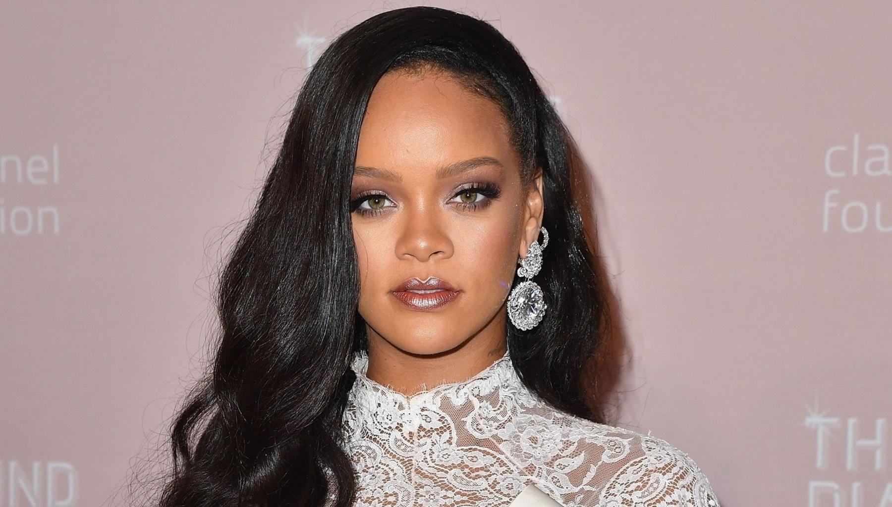 Rihanna Leaves Nothing To Hassan Jameel's Imagination In Photos Taken During A Midnight Swim