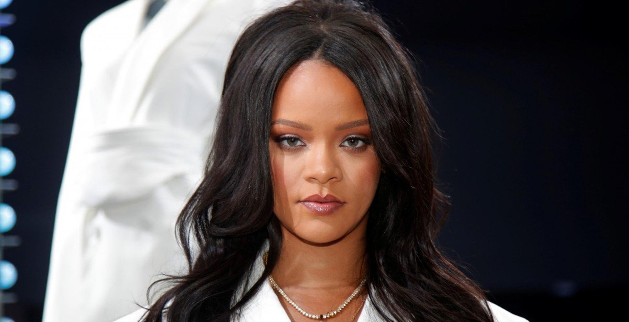 Rihanna Wears Almost Nothing In New Photo To Promote Her Latest Project