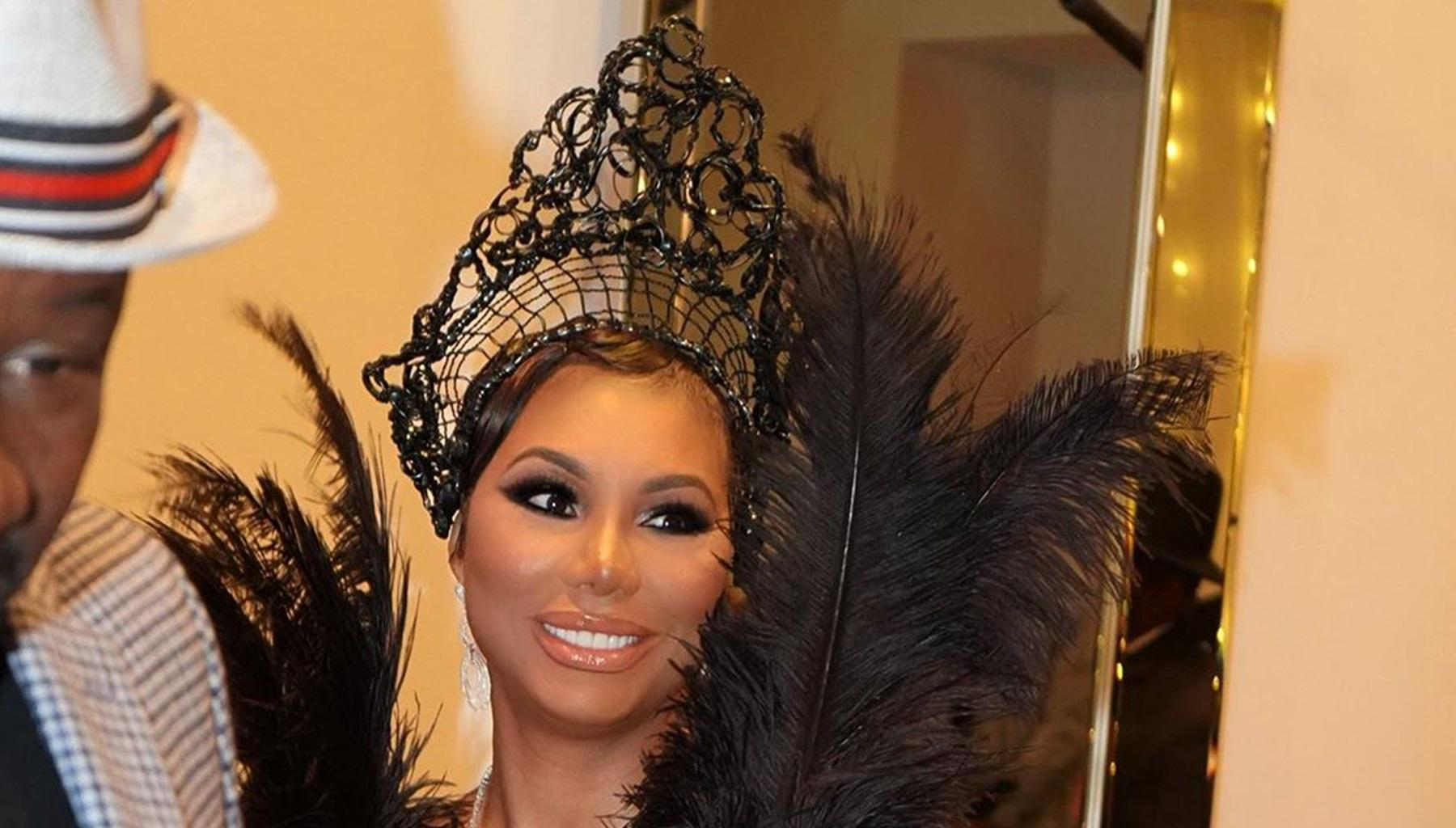 Tamar Braxton Takes The Great Gatsby Theme From Sister Toni Braxton For David Adefeso's Extravagant Birthday Party -- Photos From The Event Look Like A Wedding