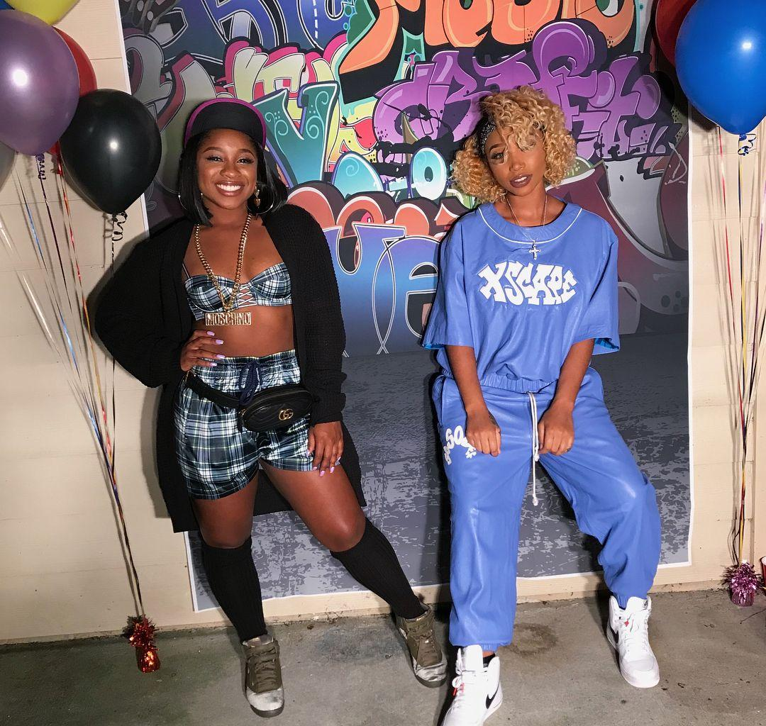 Reginae Carter Tells Tiny Harris That She And Zonnique Pullins Were Switched At Birth