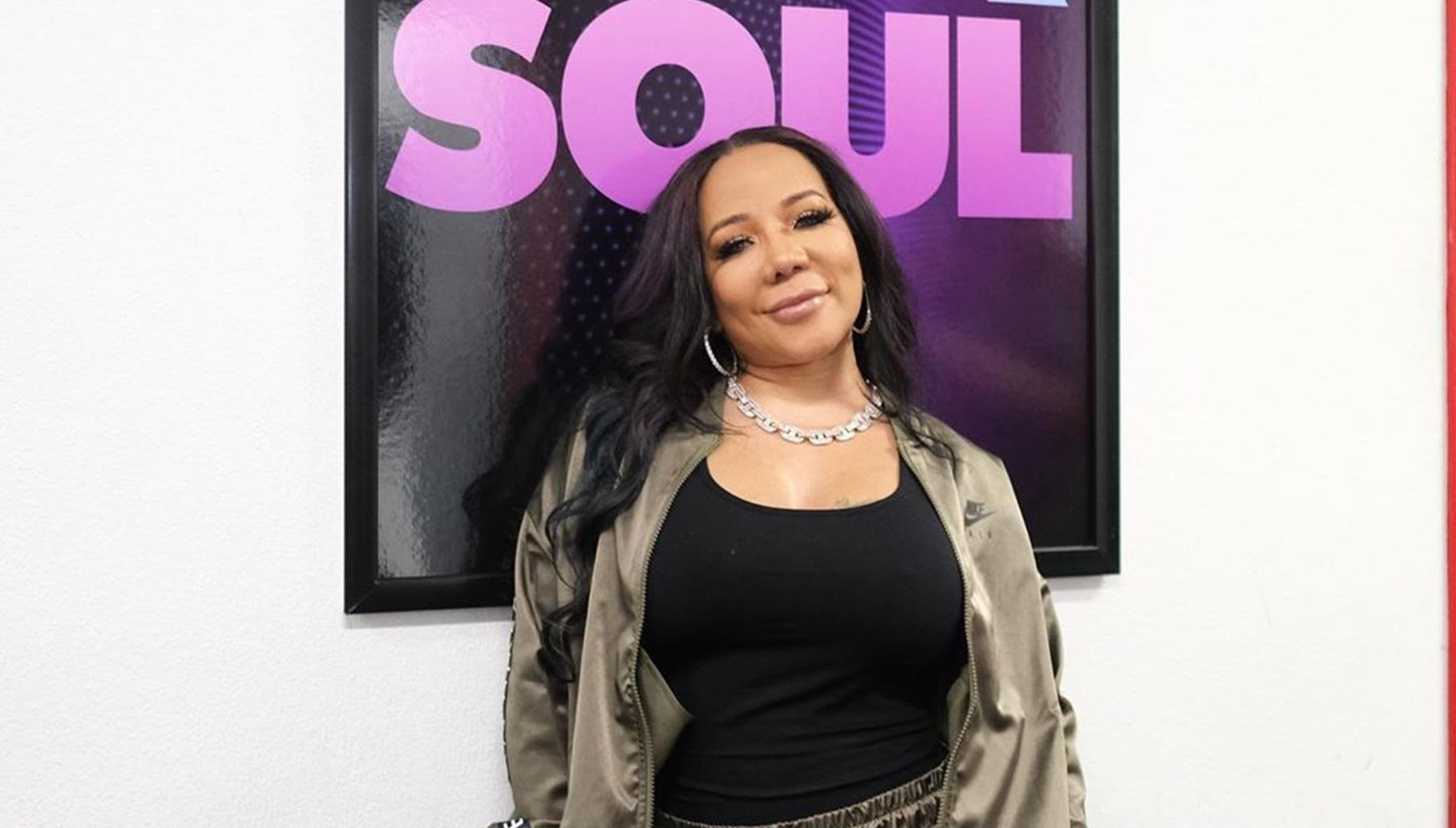 Tiny Harris Confirms That She Has T.I.'s Back With This Photo As Fans Slam The Rapper And Jada Pinkett Smith For Their Decision To Again Talk About Deyjah Harris' Private Life