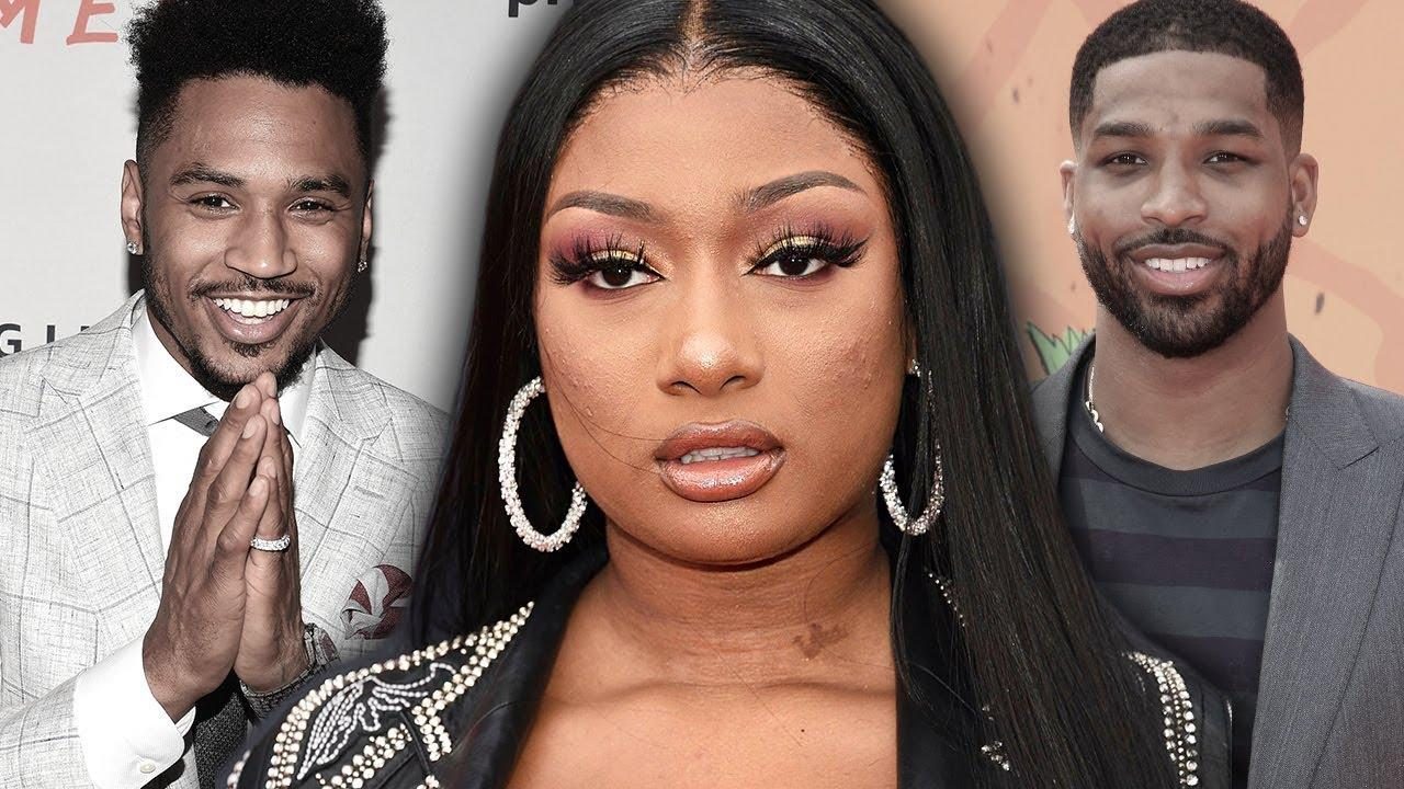Megan Thee Stallion And Trey Songz Get Cozy During Night Out After She Denies Dating Tristan Thompson - See The Vid!