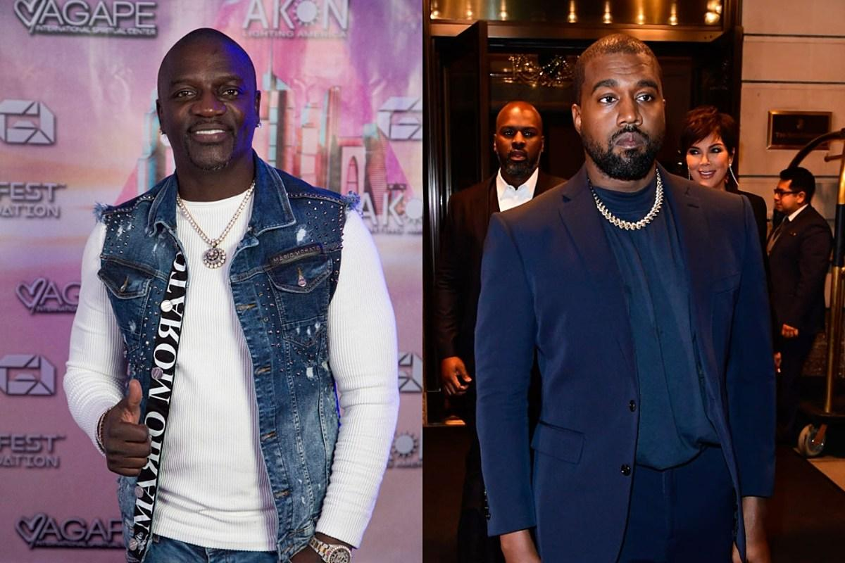 Akon To Run For President In 2024 - He Wants Kanye West To Run As Well