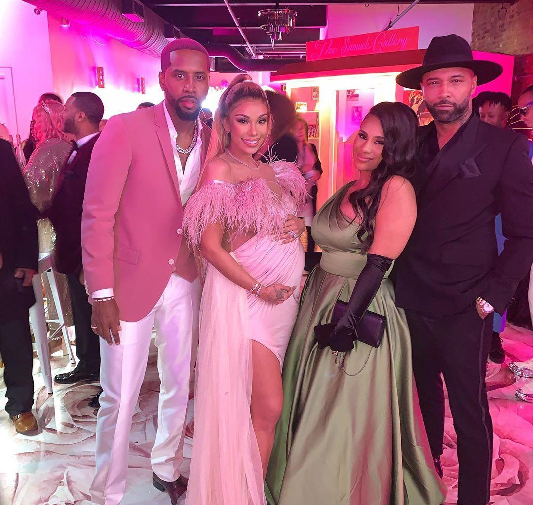 Erica Mena Gushes Over Her Met Gala-Themed Baby Shower Dress And Overall Look
