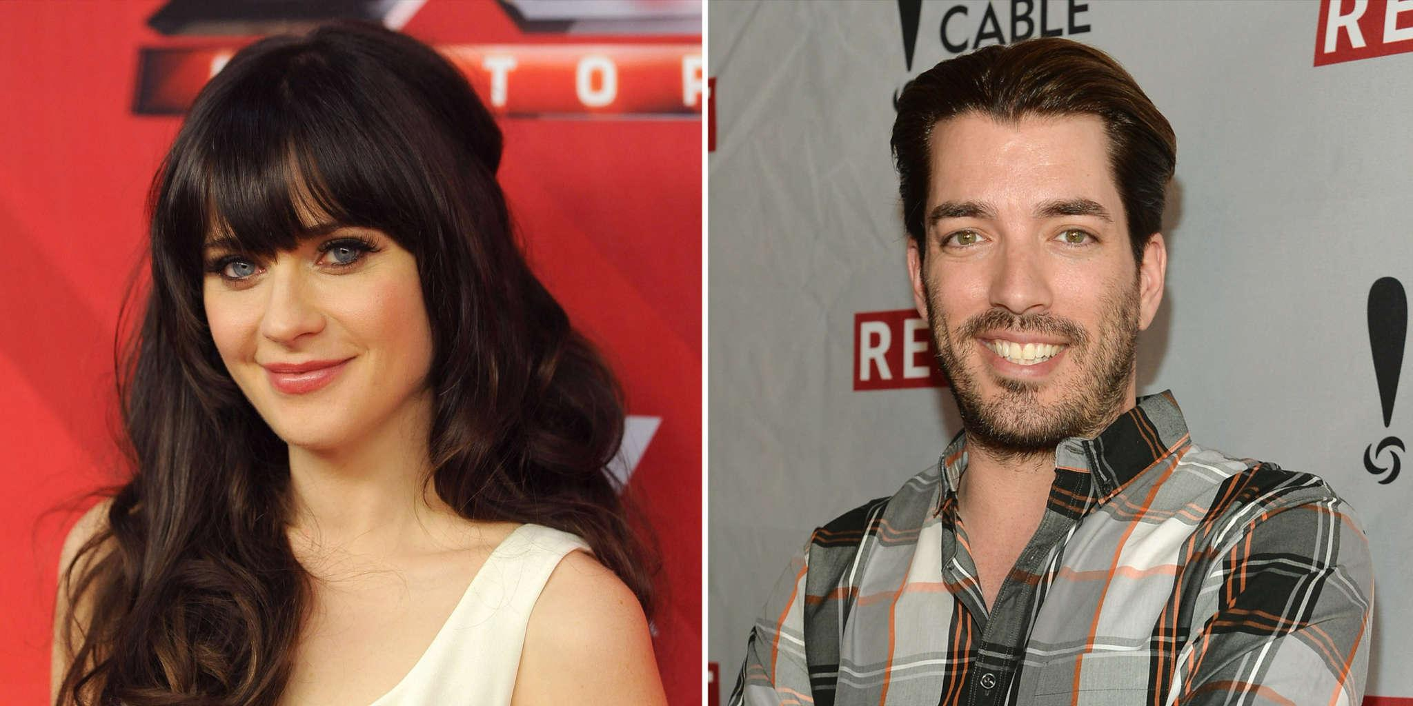 Zooey Deschanel Reportedly Thinks Jonathan Scott Is 'Different' From All The Men She's Dated Before