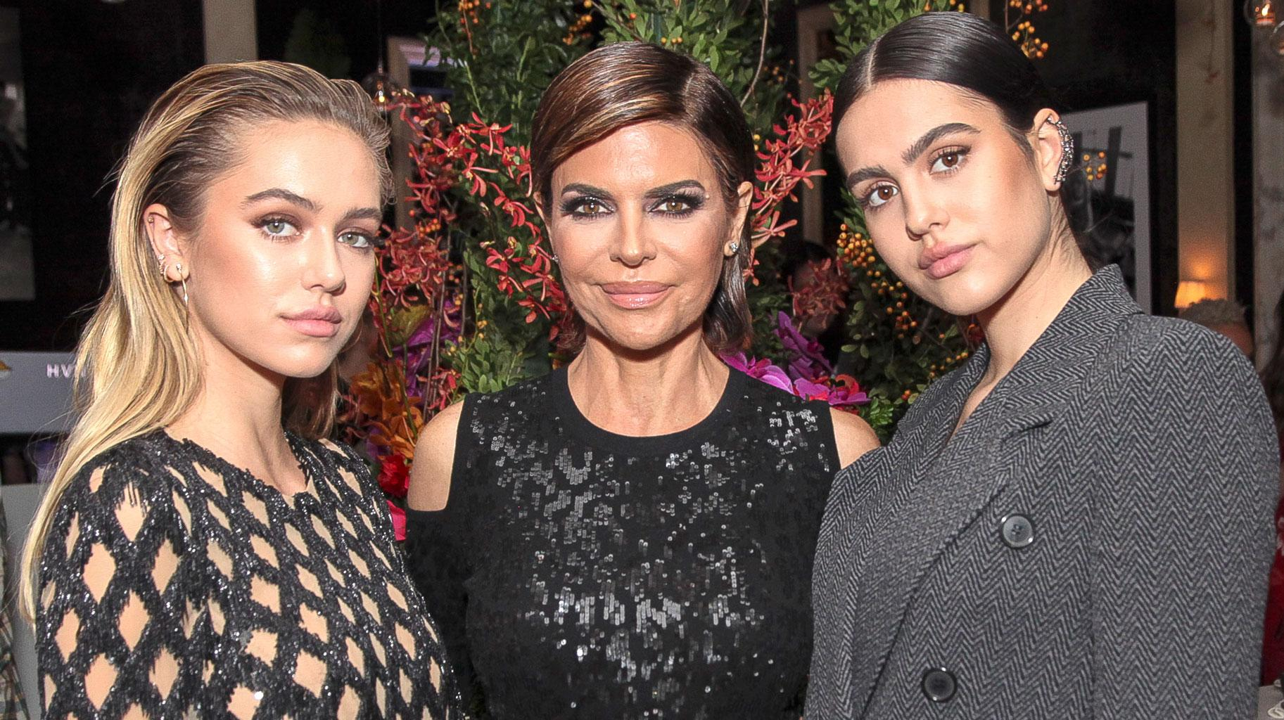 Lisa Rinna Reveals Some Important Lessons She's Taught Daughters Delilah And Amelia