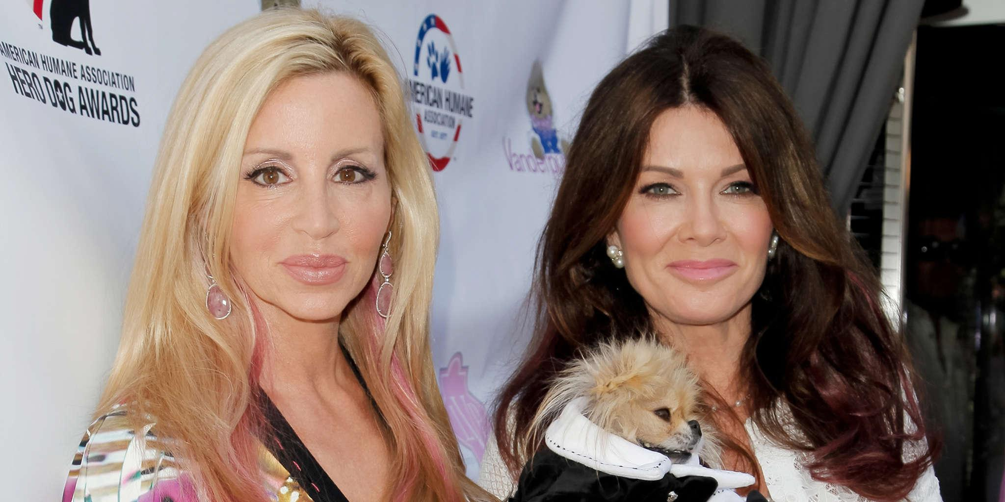 Lisa Vanderpump Says She Thought Camille Grammer Was Done With RHOBH - She Was Surprised By Her Return!