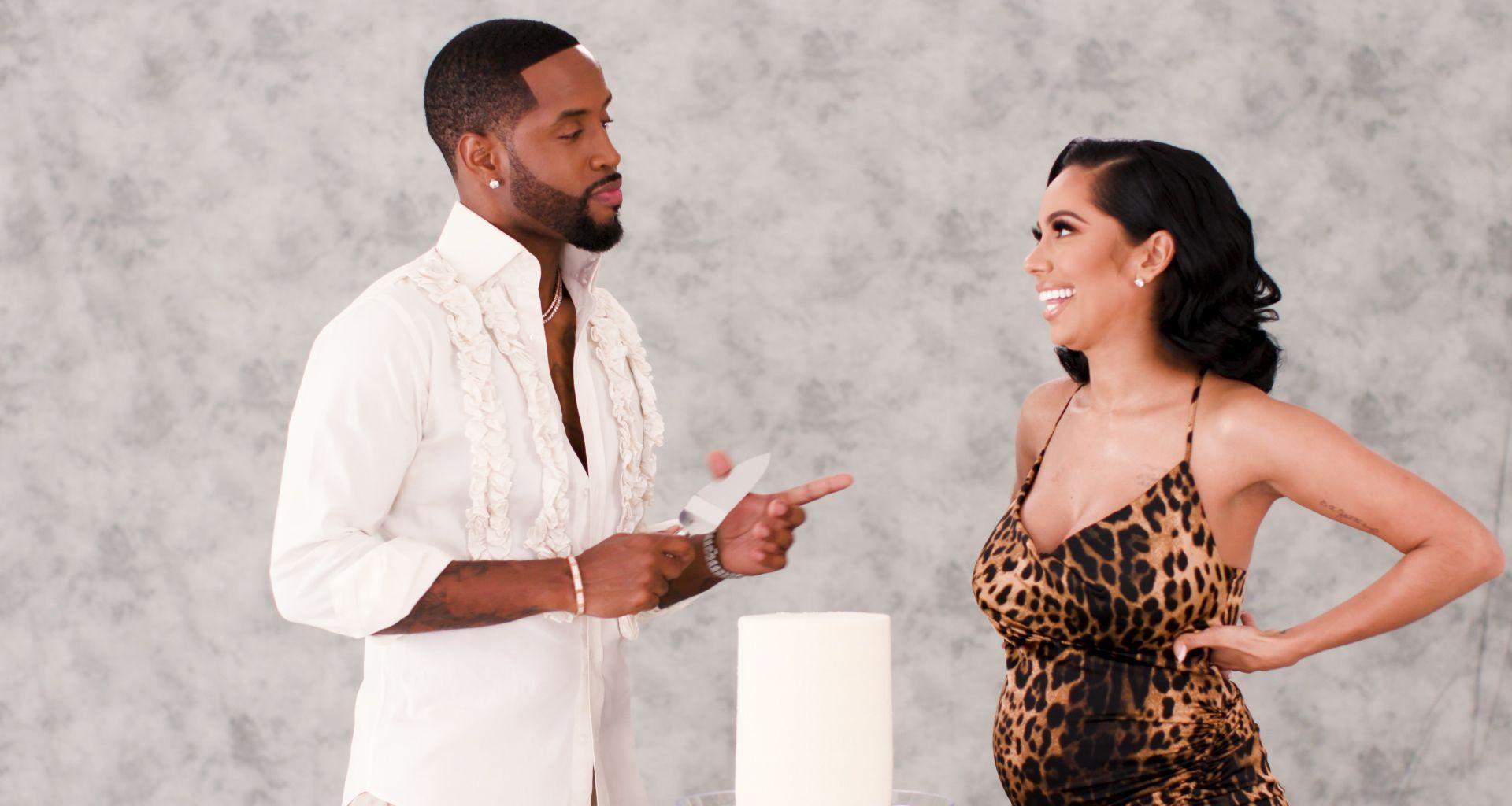 Erica Mena And Safaree Get A Glimpse Of Their Baby Girl - See The Video & Pics