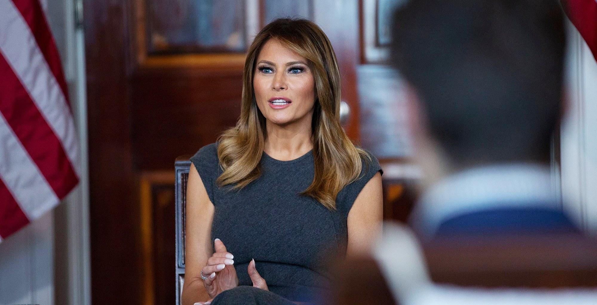 Melania Trump Gets Booed During Speech At Event In Baltimore After Donald Dubbed The City As A 'Disgusting Rat-Infested Mess'