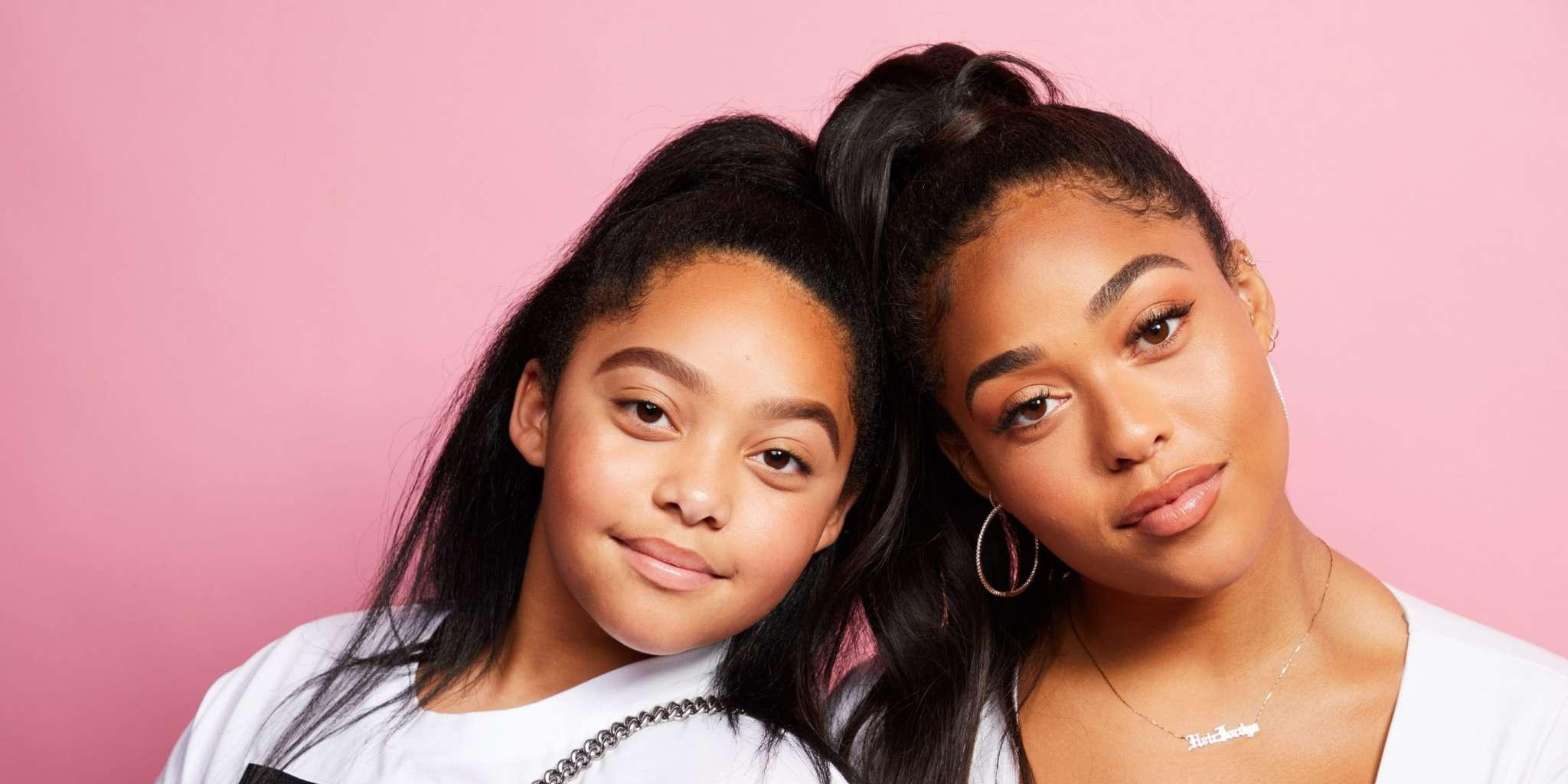 Jordyn Woods Is Twinning With Her Sister While Promoting Her Recently Released Lashes - See The Videos