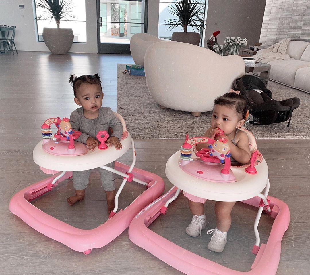 KUWK: Kylie Jenner Posts Adorable Photos Of Cousins Stormi And Chicago Holding Hands And Rocking Matching Outfits!