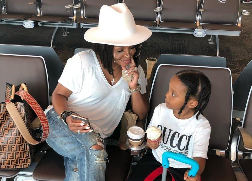 Rasheeda Frost Poses With Her Son, Karter Frost And Fans Are Gushing Over The Young Man