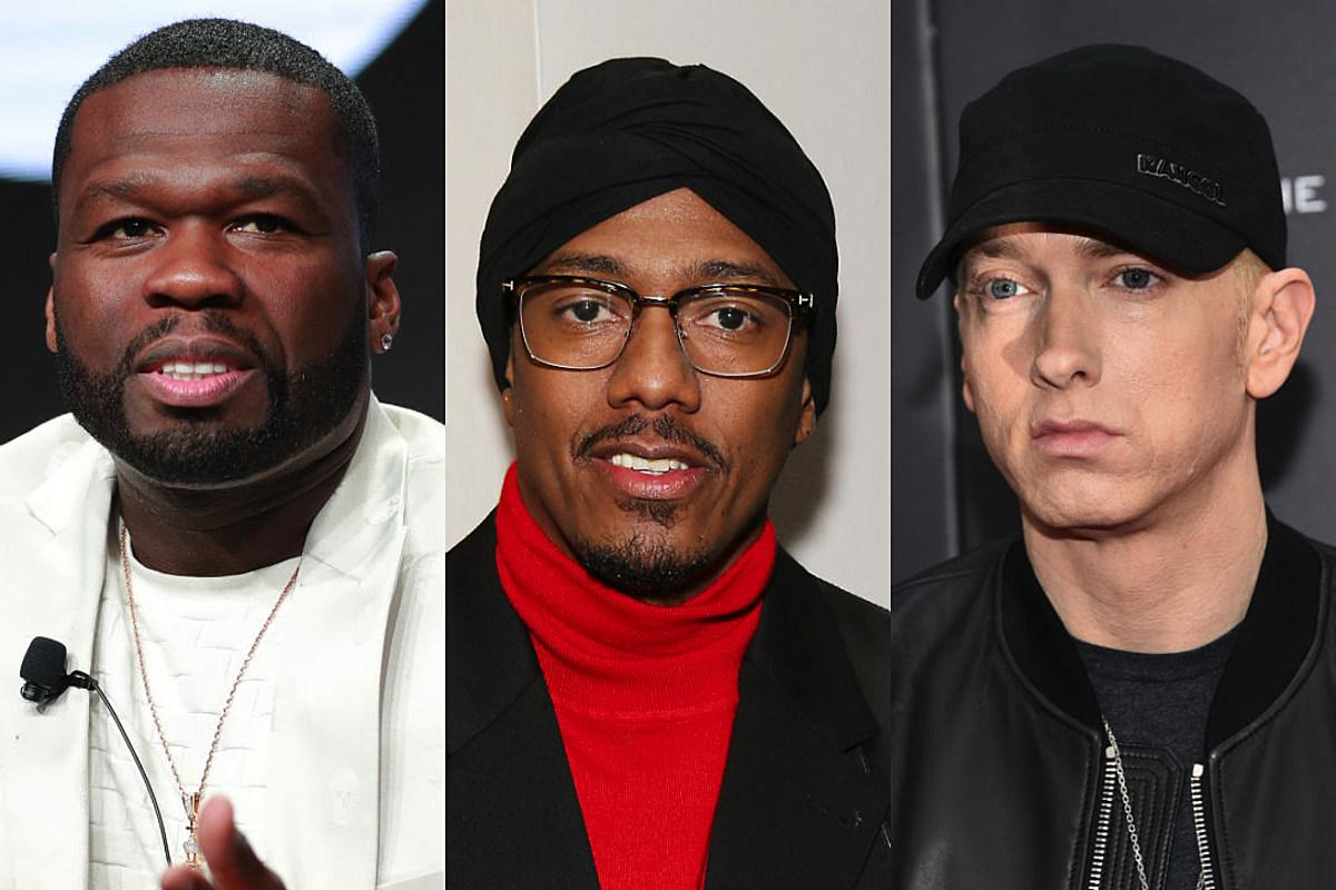 50 Cent Shades Nick Cannon - Says 'No One Cares' About His Eminem Diss Track!