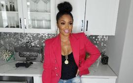 Rasheeda Frost Shares A Sweet Photo Featuring Her Son Karter Frost Decorating The Christmas Tree