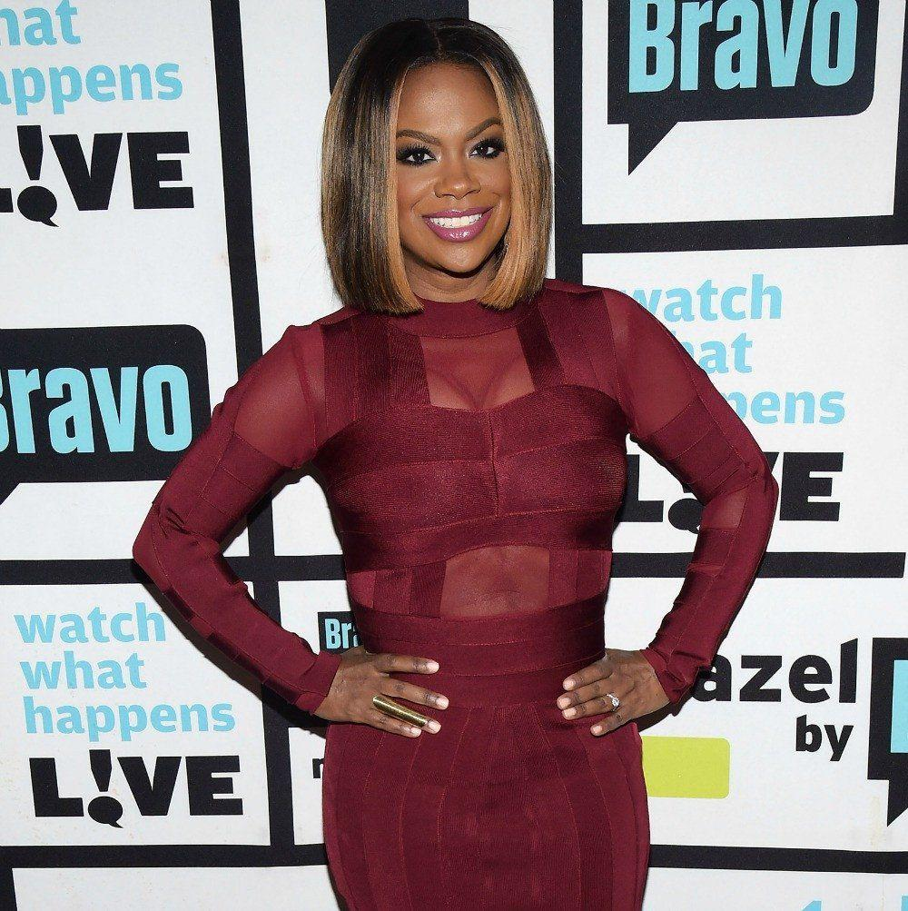 Kandi Burruss Poses Together With Her Kids, Blaze Tucker And Ace Wells Tucker