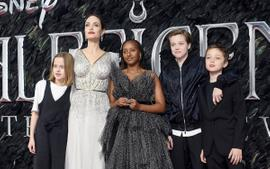 Angelina Jolie And Zahara Marley Jolie-Pitt Wore Ralph & Russo To The Maleficent Premiere