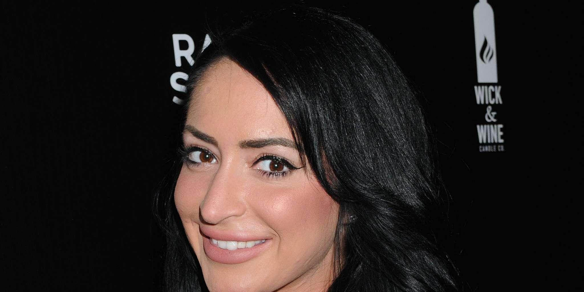 Angelina Pivarnick Took Only A Few Pictures At Her Wedding - Here's Why She Blames Her Jersey Shore Co-Stars For It!