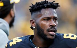 Antonio Brown Greeted By Three Police Cruisers Due To Baby Mama Fiasco