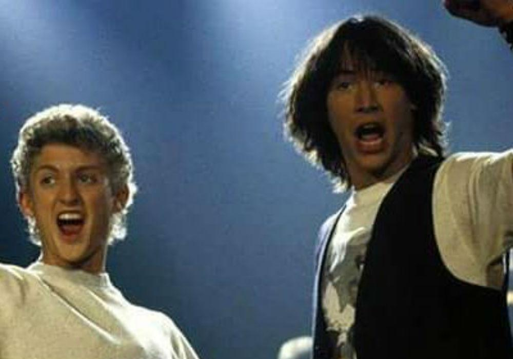 Keanu Reeves And Alex Winter Are Back In Bill And Ted Face The Music - See The First Images From The Long-Awaited Sequel!