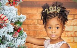Stevie J, His Baby Mama, Joseline Hernandez, And Her Fiancé, DJ Ballistic, Melt Fans' Hearts In New Video Where They Cheer Bonnie Bella At Her Cute Christmas Play