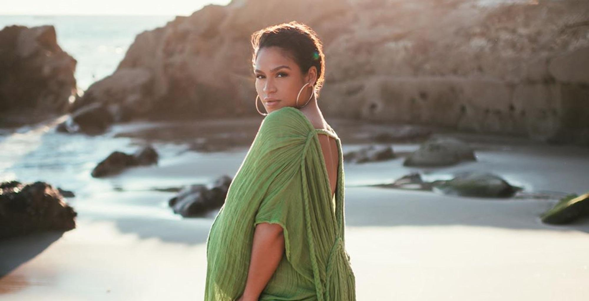 Cassie Ventura Stuns In Maternity Photo Shoot With Alex Fine As She Counts The Days To The Birth Of Her Baby Girl