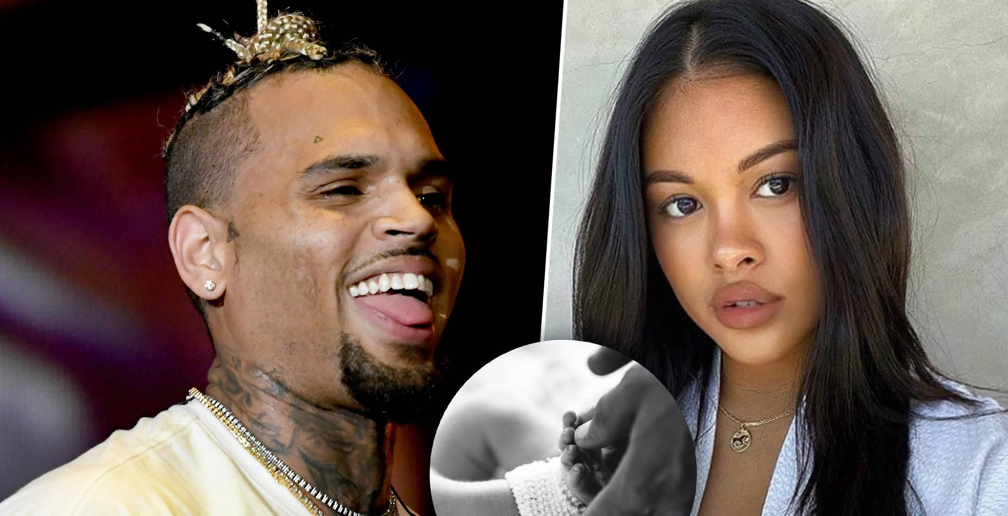 Chris Brown Finally Shows Off His Newborn And Confirms His Name - Check Out The First Pic!
