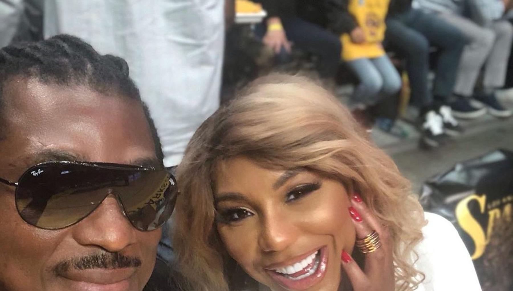 Tamar Braxton Sparks Rumors About Potential Pregnancy With This Video With BF David Adefeso