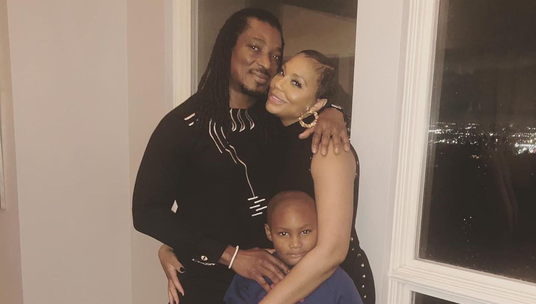 Tamar Braxton's BF, David Adefeso, Is Building The Most Amazing Relationship With Her Son - See The Video