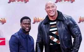 Dwayne Johnson Says His 'Heart Stopped' When He Found Out About Kevin Hart's Car Accident