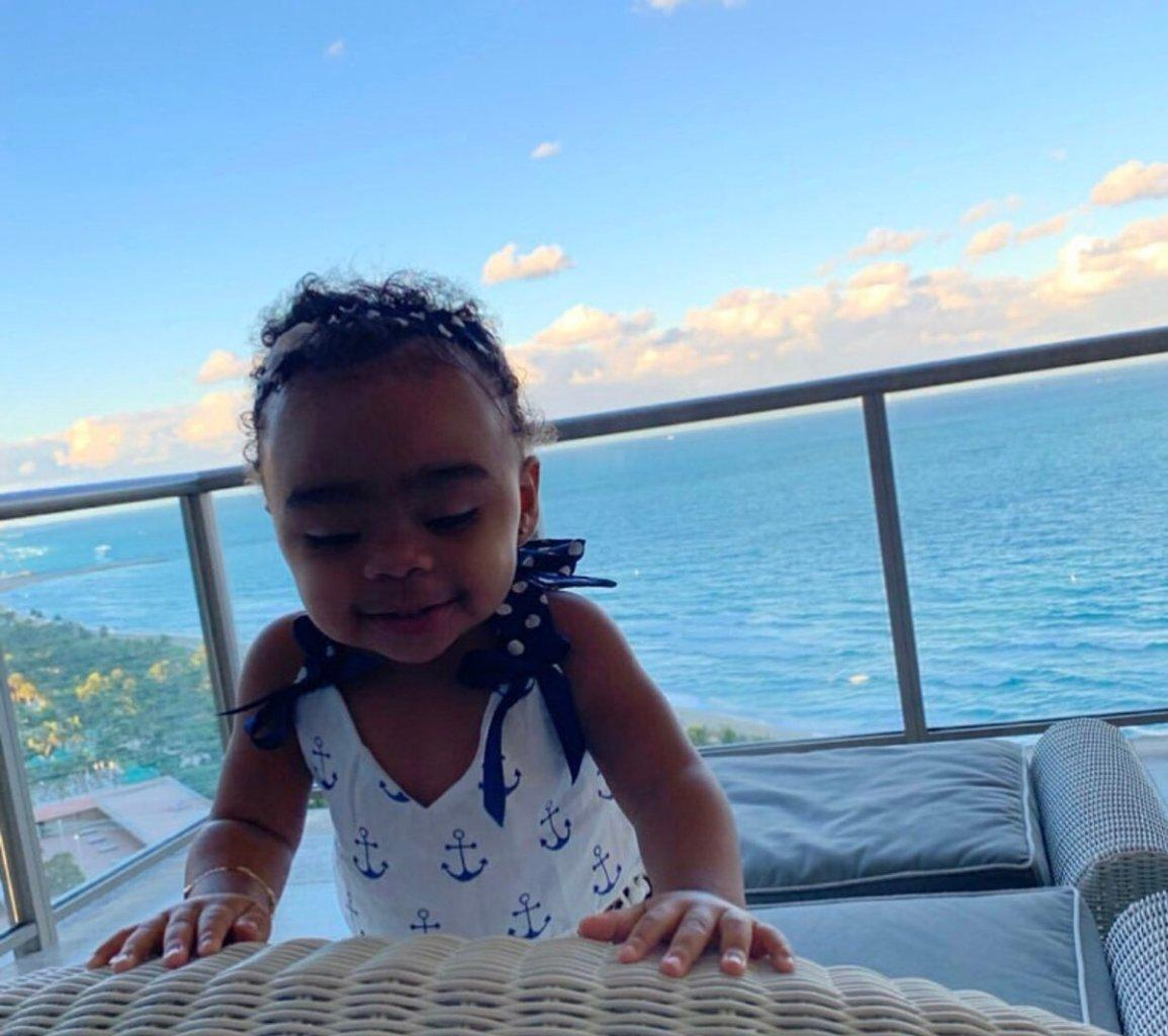 Toya Johnson Shares One Of Her Favourite Photos With Baby Reign Rushing And Fans Praise The Girl's Intelligence