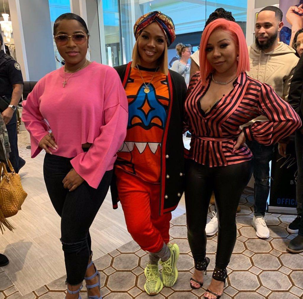 Toya Wright And Rasheeda Frost Spend Some Quality Time At A Holiday Party - See Their Looks