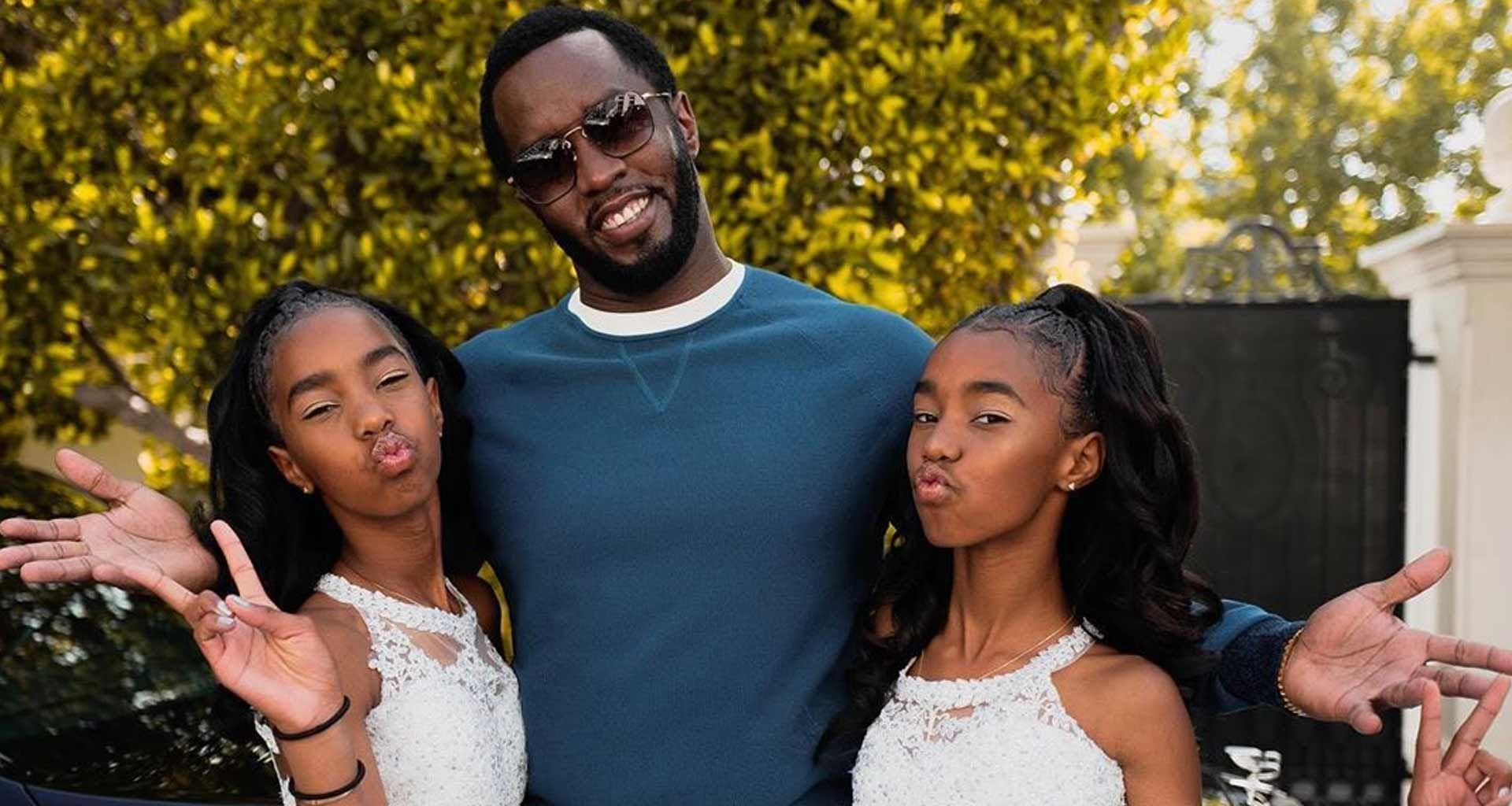 Diddy Celebrates The 13th Anniversary Of His Twin Daughters, Jessie And D'Lila - See The Video And Read His Message