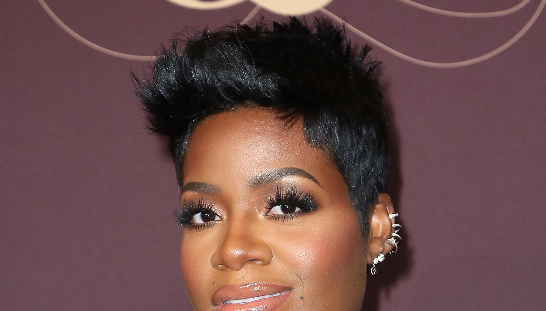 Fantasia Stuns Yet Again In Skin-Colored Bodycon Dress -- Photos Confirm That Kendall Taylor Is A Lucky Man