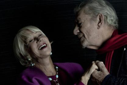 Helen Mirren Stuns In David Webb Jewels As She Poses With Sir Ian McKellen —See The  Photos