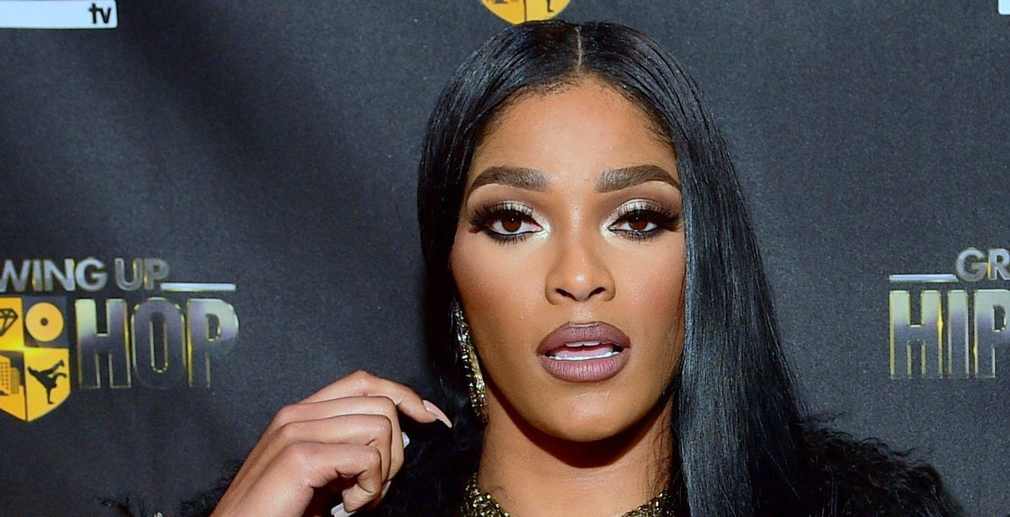 Joseline Hernandez Confirms She Has Been Naughty With Sizzling Photo Shoot In Leather Bodysuit Ahead Of Her Big TV Comeback In A Strip Club