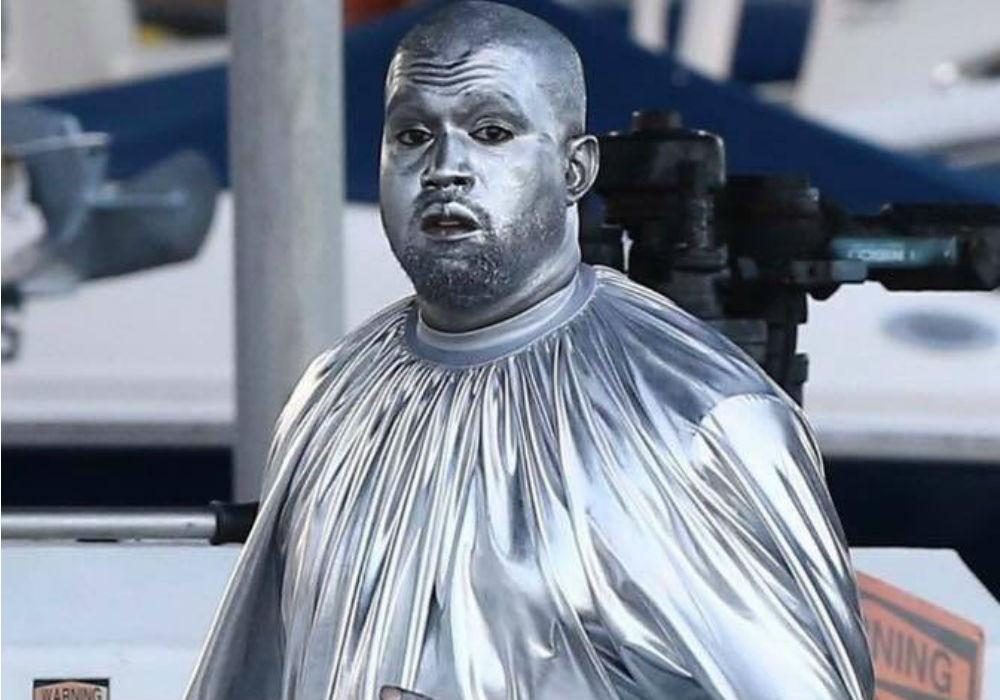 Kanye West Paints Himself Silver For His Second Opera Debut In Miami