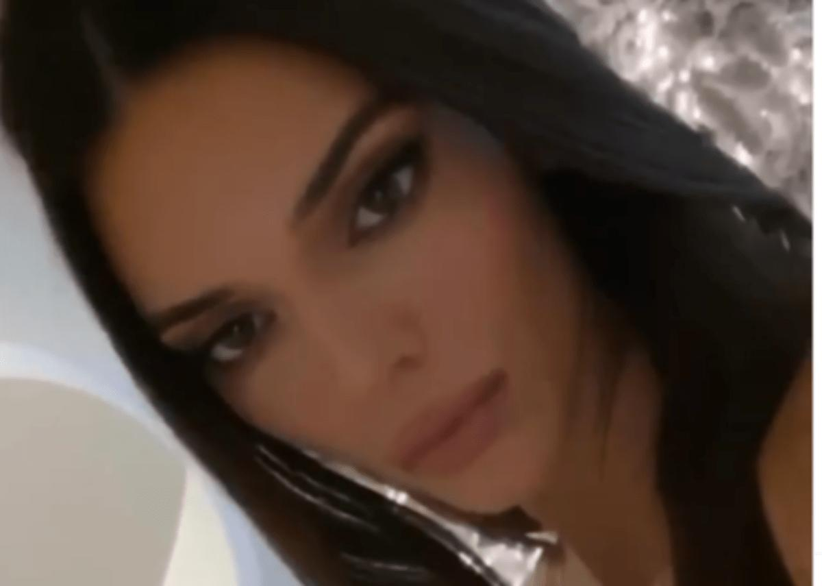 Kendall Jenner Displays Gorgeous Makeup And Hair In New Video