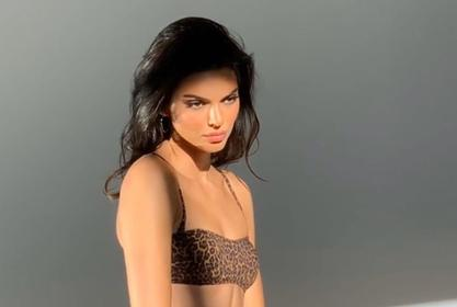 Kendall Jenner Was Told To Take Her Shirt Off The First Time She Walked The Runway