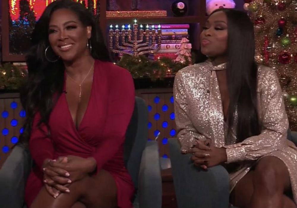 Kenya Moore And Quad Webb's Appearance On WWHL Was Cringe-Worthy - They Hashed Out Their Beef On Camera!
