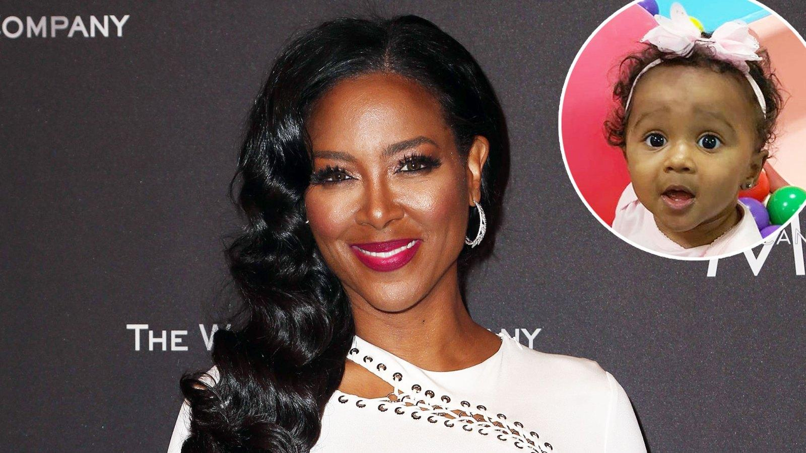 Kenya Moore's Baby Girl, Brooklyn Daly Is Showing Off Her Rich, Thick Hair While Taking A Walk Around The House - Fans Go Crazy With Excitement